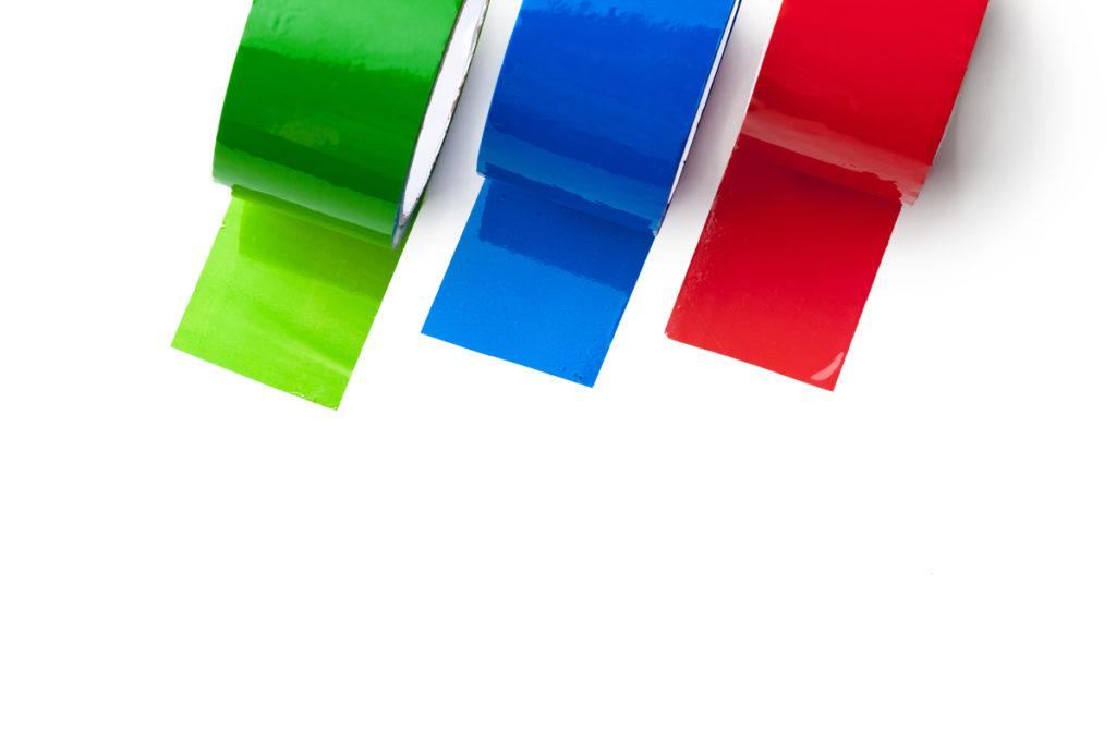 taśmy izolacyjne kolorowe - CVGS konwerting